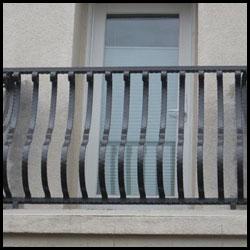 Wrought Iron Balcony, San Francisco, CA