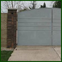 Remote Entry Access Gate