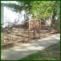 Wrought Iron Fencing San Francisco
